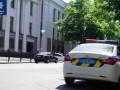 Под Киевом у копов угнали патрульный автомобиль