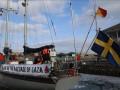 Израиль перехватил корабль под флагом Швеции