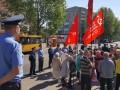 В Николаеве из-за красного флага пострадал один человек