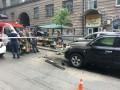 Взрыв джипа в Киеве: под сидением нашли взрывное устройство