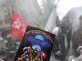 В Вене Ночные волки возложили цветы к памятнику советским воинам