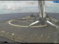 SpaceX второй раз использовала ступень и вывела спутник на орбиту