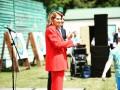 Дорогой французский бренд: известна стоимость яркого костюма первой леди
