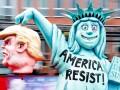 Парад злой сатиры в Европе: Трамп, Ле Пен и Гитлер в одном ряду