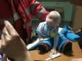 В Киеве мать бросила на вокзале 9-месячного ребенка