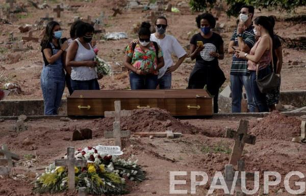 Катастрофа с коронавирусом в Бразилии