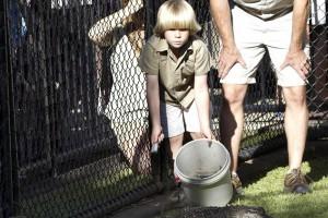 У пасти аллигатора: сын идет за отцом