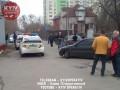 В Киеве произошла стрельба, есть раненый