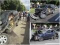 В центре Запорожья пьяный водитель спровоцировал массовое ДТП