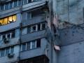В Донецке из-за попадания снаряда в жилой дом погиб мирный житель