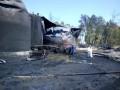 Нацгвардия охраняет нефтебазу под Киевом, где горит еще один резервуар
