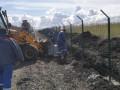 Украина возобновила строительство стены на границе с Россией