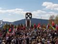 Тысячи человек отпраздновали 100-летие победы сечевых стрельцов на горе Маковка