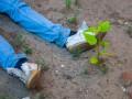 В Днепре мужчина повесился на заборе детского садика