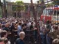 В непризнанной Абхазии протестующие попытались взять штурмом здание МВД