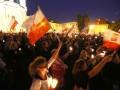 В Польше многотысячные протесты из-за судебной реформы