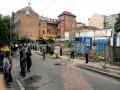 Милиция задерживает активистов в Десятинном переулке
