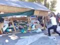 Во время сноса палаточного городка у мэрии Одессы произошла кровавая потасовка