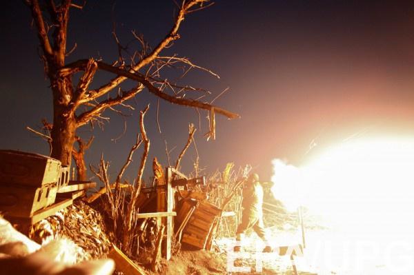 Морпехи отбили атаку боевиков возле Коминтерново