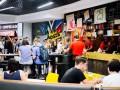В Киеве открылся бургер-бар с низкими ценами