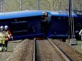 В Нидерландах поезд сошел с рельсов: есть погибшие