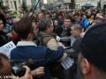 Под офисом Зеленского произошла потасовка, есть задержанные
