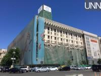 В Киеве снимают фасад с Дома профсоюзов