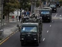Военные запретили передвижение по Эквадору на сутки