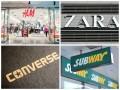 В 2015 году в Украине появится больше двадцати мировых брендов