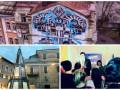 День в фото: странная елка в Италии, день рождения Саакашвили и мурал в Киеве