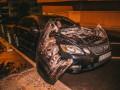 В Киеве взорвалось элитное авто