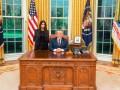 Трамп провел встречу с Ким Кардашьян