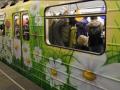 В киевской подземке появится цветочный поезд