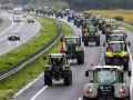 В Нидерландах фермеры устроили акцию протеста на тракторах