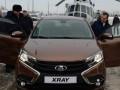 Медведев провел тест-драйв новой модели Lada