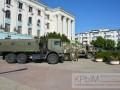 В Крыму вновь заметили огромную колонну военной техники