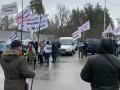 Протестующие ФОПы приехали в Конча-Заспу