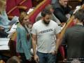 """""""Зашквар"""": Дубинский появился в Раде в провокационной футболке"""