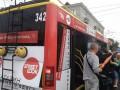 В Черновцах на ходу задымился переполненный троллейбус