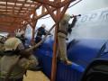 Размахивал топором: Задержали поджигателя ТЦ в Первомайске