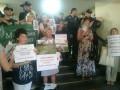 В Киевсовет прорвались активисты