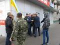 В Мелитополе на митинге произошла потасовка (видео)