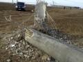 На Херсонщине упала опора ЛЭП, подающей электричество в Крым