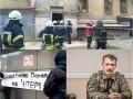 Итоги 25 февраля: Обвал здания в Киеве, блокирование Интера и иск против Гиркина