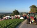 В Австрии перевернулся трактор с прицепом: 13 пострадавших