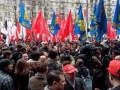 Яценюк, Кличко и Тягнибок пришли к Киевсовету, стремясь поучаствовать в заседании