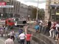 На Майдане неизвестные избили журналистов (видео)