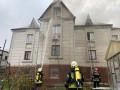 В Киеве горел и чуть не взорвался трехэтажный дом