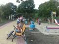 На Днепровской набережной столицы открыли обновленный парк