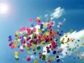 Южная Корея отправила в КНДР воздушные шары со сладостями